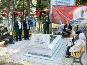 Samsunlu Şehit Fikret Özer, Mezarı Başında Anıldı