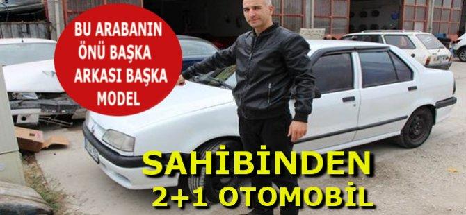 Amasya'da Arabanın Önü 1996, Arkası 2000 Model Çıktı!