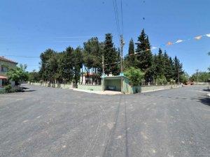 Samsun'un Bafra İlçesinde Beton Yol Yapımı Çalışmaları