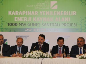 """Enerji Bakanı Albayrak: """"Yerli Üretimle Bin Kişiye İstihdam Sağlayacağız"""""""