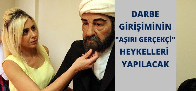 """Samsun'da Darbe Girişiminin """"Aşırı Gerçekçi"""" Heykelleri Yapılacak"""