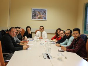 SAMULAŞ ve Öğrenci Konseyi Çalışma Gurubu Bir Araya Geldi