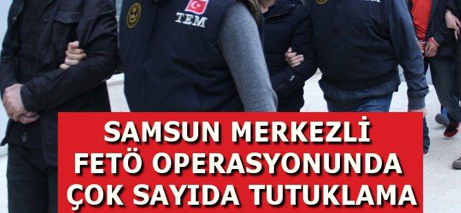 Samsun Merkezli FETÖ Operasyonunda 8 Kişi Tutuklandı