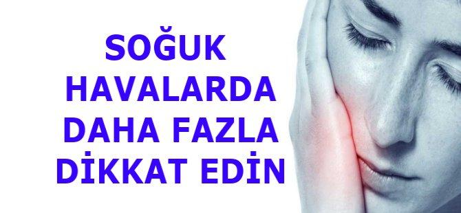 """Samsun Diş Hekimleri Odası Başkanı Abdullah İlker,"""" Soğuk Havalarda Daha Dikkatli Olun"""""""