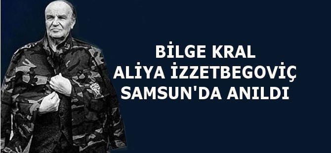 Samsun'da Bilge Kral Aliya İzzetbegoviç Anıldı