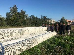 Bafra'da Çetinkaya Köprüsü'nde Restorasyon Çalışmaları Başladı