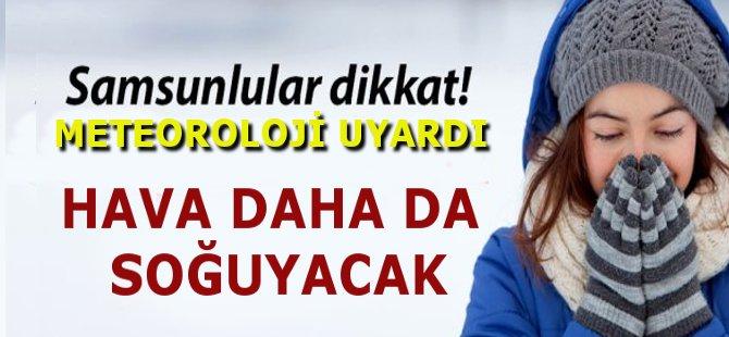 Samsun'da Yeni Hafta Soğukları da Beraberinde Getirdi