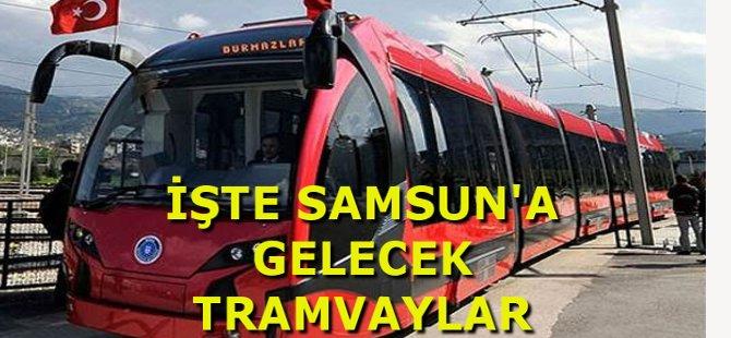 Samsun Bursa'dan Gelecek İpekböceği Tramvayları Bekliyor