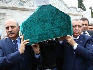 Enver Baytan'ın Tabutunu Erdoğan Omuzladı