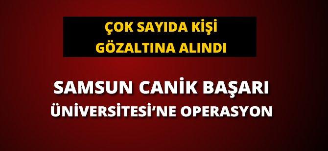 Samsun'da FETÖ Operasyonunda Gözaltı Sayısı Arttı