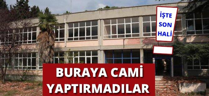 Samsun'da 48 Yıllık Okulun Yerine Cami Yaptırmadılar Ancak Yıkımına Da Engel Olamadılar