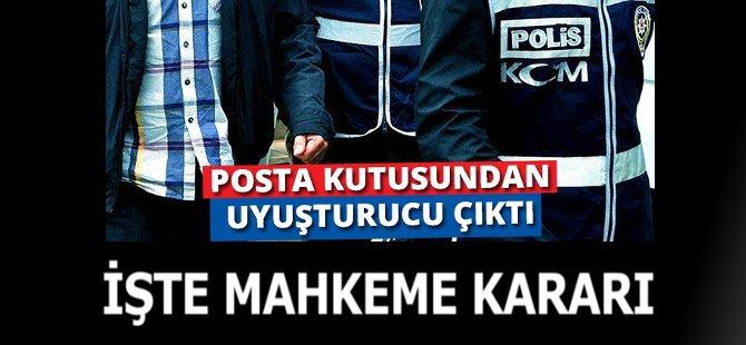 Samsun'da Posta Kutusunda Uyuşturucu Ele Geçen Genç Tutuklandı