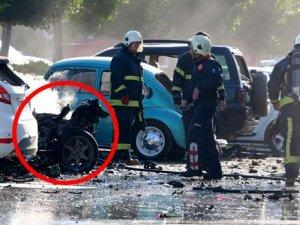 Antalya'da Patlamanın Nedeni Bomba Mı LPG Mi?