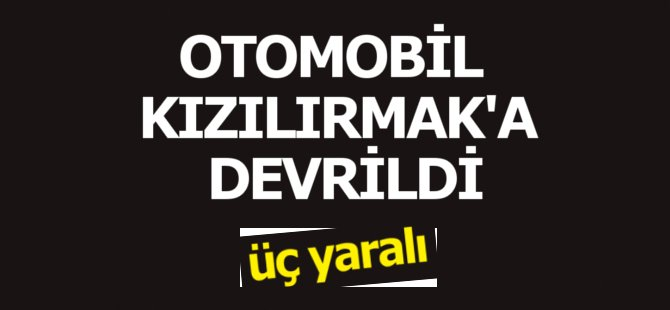 Samsun'da Otomobil Kızılırmak'a Devrildi: 3 Yaralı