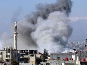 TSK Açıkladı: Suriye Helikopteri Muhaliflere Varil Bombası Attı