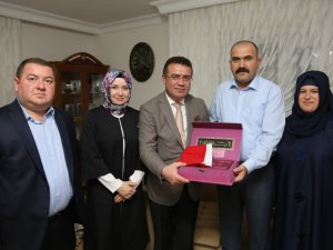 Samsun'un Atakum İlçe Belediye Başkanı Taşçı'dan Hacılara Ziyaret