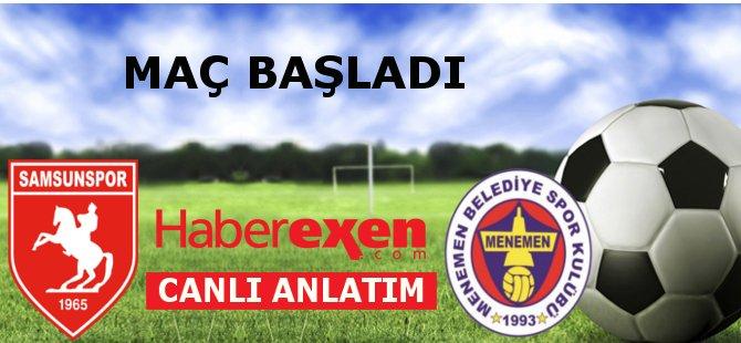 Samsunspor - Menemen Belediyespor Maçı Ne Zaman Hangi Kanalda?