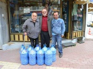 Samsun'un Alaçam İlçesinde Duyarlı Vatandaştan Mavi Kapak