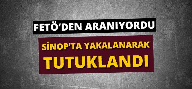 FETÖ Kapsamında Samsun'da Aranan Şahıs Sinop'ta Yakalandı