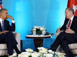 Cumhurbaşkanı Erdoğan ile Obama Arasında Kritik Görüşme