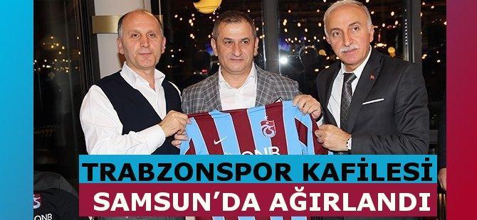 Ziraat Türkiye Kupası Maçı Sonrası Trabzonspor Kafilesi Samsun'da Ağırlandı