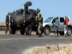 Bingöl'de Askeri Aracın Geçişi Sırasında Patlama!