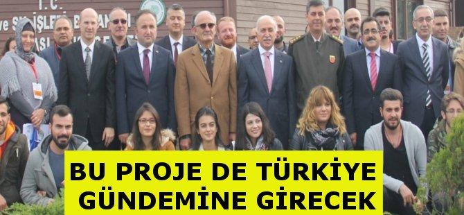 """Samsun Valisi İbrahim Şahin, """"Tabiatta Ders Var Projesi Türkiye Gündemine Girecek"""""""
