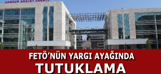 Samsun'da FETÖ'den Gözaltına Alınan Adliye Personeli Tutuklandı
