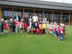 Samsun Çarşambalı Minikler Golf İle Tanıştı