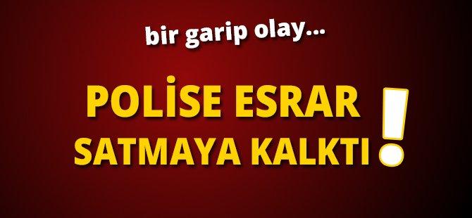 Samsun'da Polise Esrar Satmak İsteyen Şahıs Gözaltına Alındı