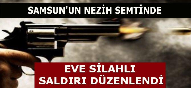 Samsun'un Atakum İlçesi'nde Bir Eve Silahlı Saldırı Düzenlendi