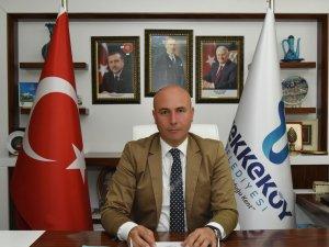 Samsun'un Tekkeköy İlçe Belediye Başkanı Togar'ın Cumhuriyet Bayramı Kutlama Mesajı