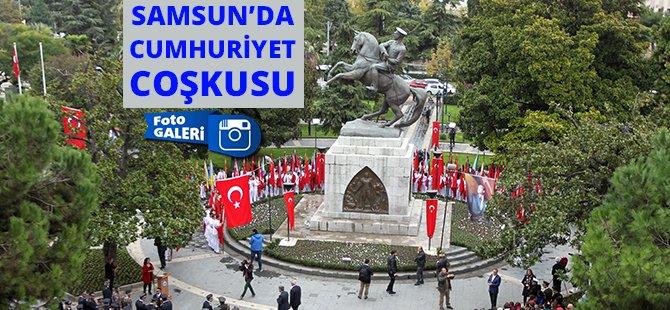 Samsun'da 29 Ekim Kutlamaları Başladı