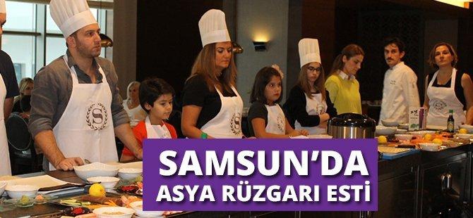 Sheraton Grand Samsun Otel ve Ekol Food İşbirliği ile Samsun'da Asya Rüzgarı Esti
