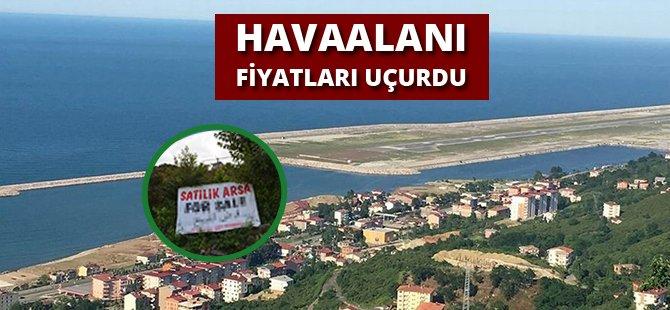 Ordu'da Havaalanı  Arsa Fiyatlarını Uçurdu