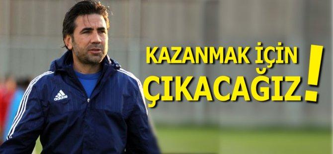 """Samsunspor Teknik Direktörü Özköylü: """"Kazanmak İçin Çıkacağız"""""""