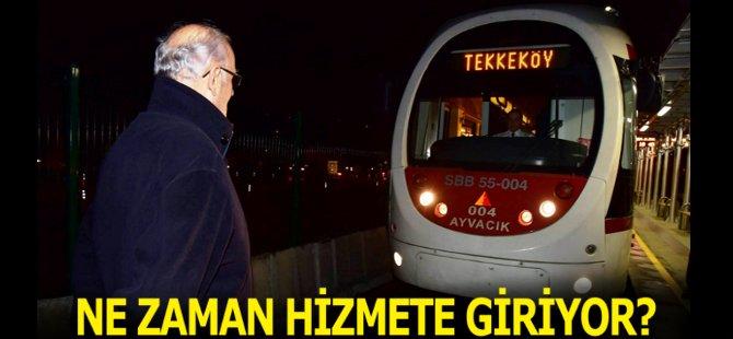 Samsun'da Yerli Tramvay Ne Zaman Hizmete Başlayacak?