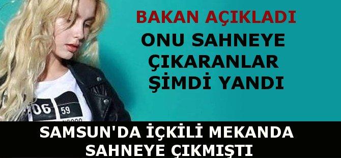 Bakan Müezzinoğlu'ndan Aleyna Tilki Açıklaması Samsun'da da Sahne Almıştı