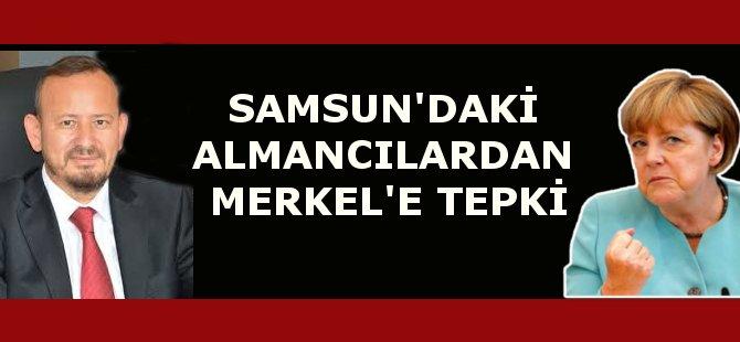Samsun'da Yaşayan Almancılardan Merkel'e Tepki