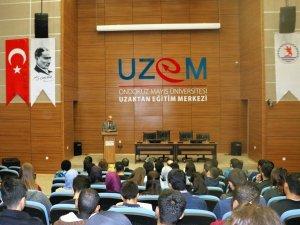 Samsun OMÜ Yönetimi Yabancı Uyruklu Öğrencilerle Tanıştı