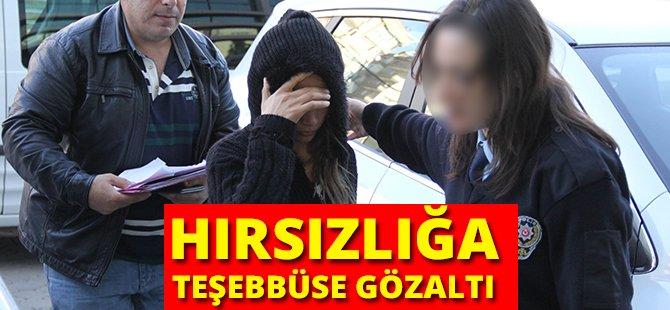 Samsun'da Hırsızlığa Teşebbüse Gözaltı