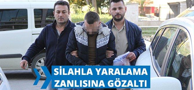 Samsun'da Silahla Yaralamayı Azmettirme İddiasına Gözaltı