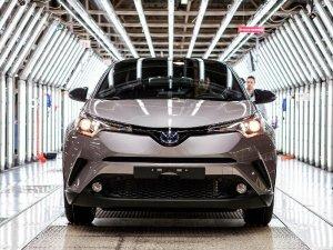 Adapazarı'nda Toyota C-hr'nin Üretimine Başlandı