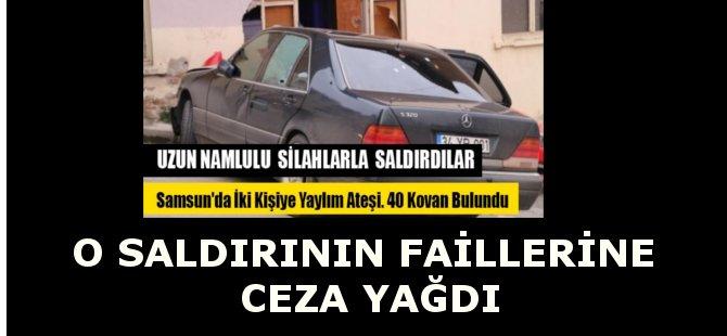 Samsun'daki Uzun Namlulu Silahlarla Saldırının Failleri Yakalandı