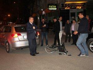 Samsun'da Otomobil İle Bisiklet Çarpıştı: 1 Yaralı