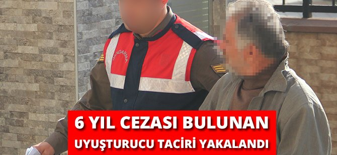 Samsun'da 6 Yıl 3 Ay Cezası Bulunan Şahıs Yakalandı