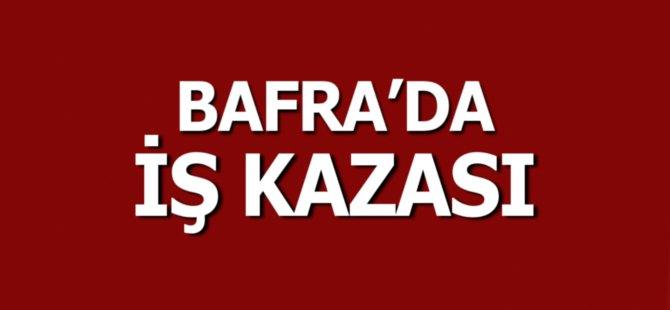 Bafra'da İş Kazası: 2 Yaralı