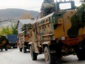 Hakkari Çukurca'da Askeri Hareketlilik Sürüyor