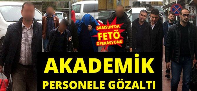 Samsun OMÜ'de 22 Akademik Personele Gözaltı