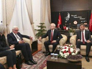 Kılıçdaroğlu Almanya Dışişleri Bakanı Steinmeier İle Görüştü